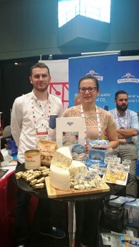 LAZUR NA TARGACH SUMMER FANCY FOOD SHOW W NOWYM JORKU